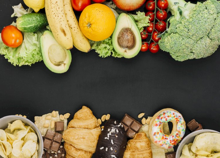 The Difference Between Healthy Food And Junk Food